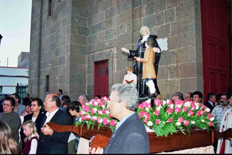 Festsividad de San Juan Bautista de La Salle - Agüimes