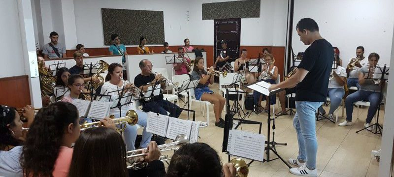 La Agrupación Musical La Salle prepara nueva obra con Yeray Vázquez García