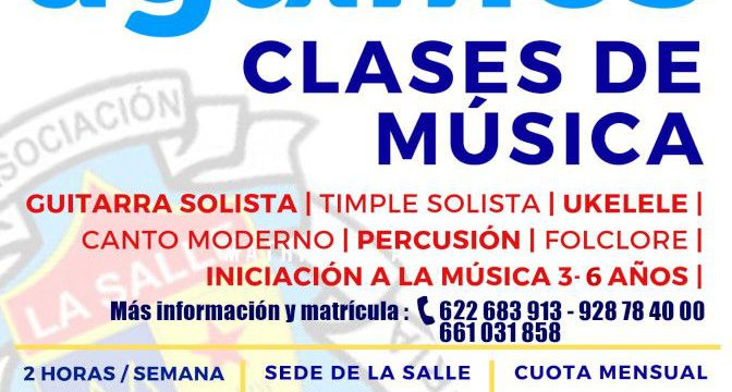 Clases de Música en La Salle