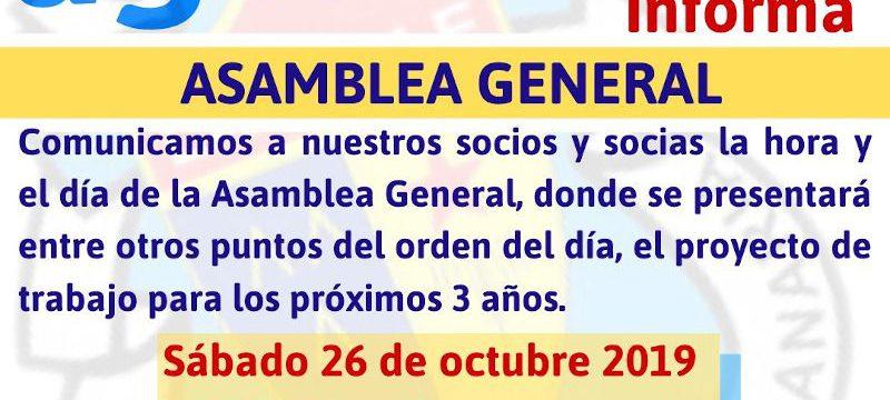 Asamblea General La Salle 26-10-19