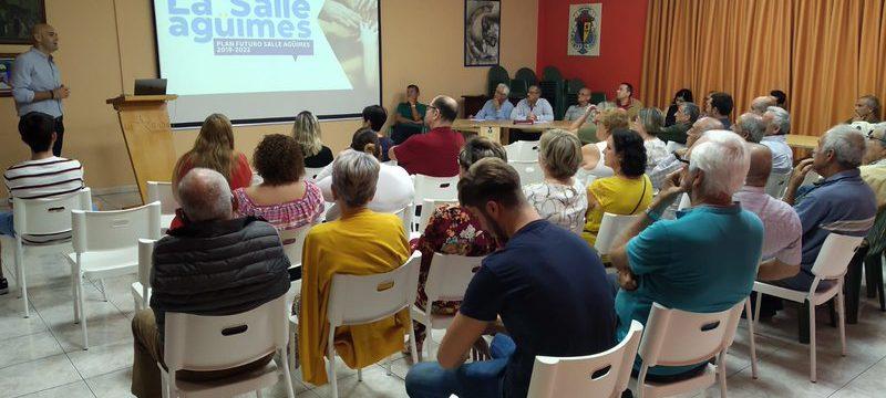 "La Asamblea aprueba por unanimidad el Plan de Trabajo ""Futuro La Salle Agüimes 2019-2022"""