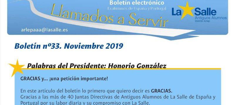 Nuevo boletín de los Antiguos Alumnos de La Salle de España y Portugal