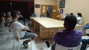 Reunión de Junta Directiva post-confinamiento