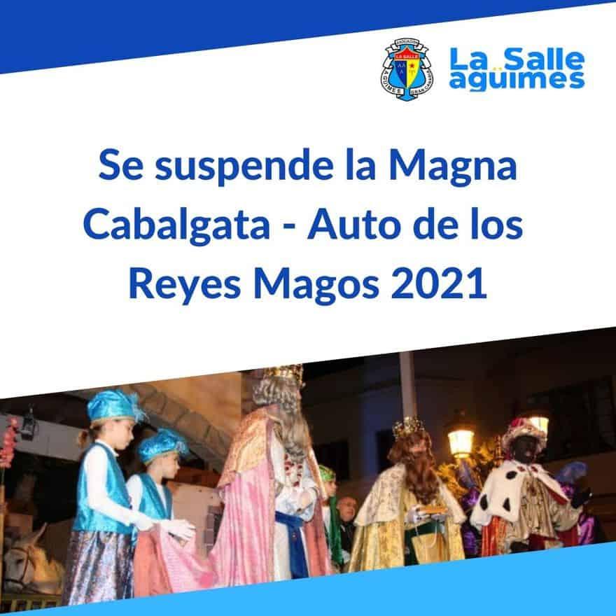 Comunicado suspensión Cabalgata 2021