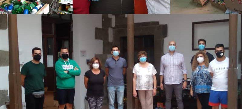 Recogida campaña Ofrenda del Rosario 2020