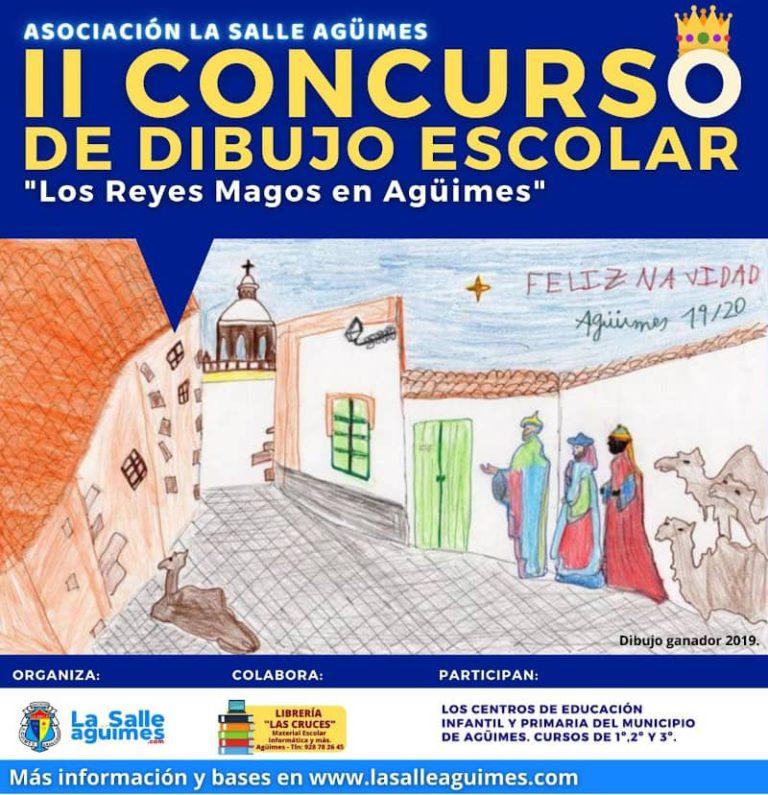 2º Edición Concurso de Dibujo Escolar «Los Reyes Magos en Agüimes»