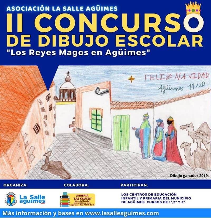 """2º Concurso de dibujo escolar """"Los Reyes Magos en Agüimes"""""""