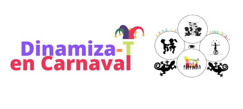 Dinamiza-T en Carnaval. Taller de Careta de animales y antifaz veneciano